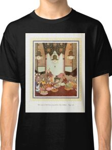 Sinbad the Sailor and other Tales of the Arabian Nights - 1914 - Edmund Dulac - 0236 - The Room of the Fruits Perpared for Abu l Hasan Classic T-Shirt