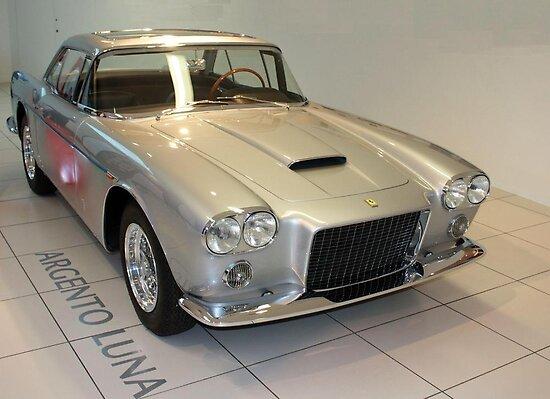 Silver Ferrari 400 Superamerica 1959 (Argento Luna), Maranello, Italy by Igor Pozdnyakov