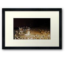 Crown of Water Framed Print
