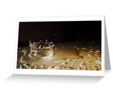 Crown of Water Greeting Card