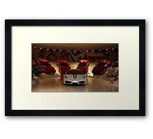 Ferrari Family Values Framed Print