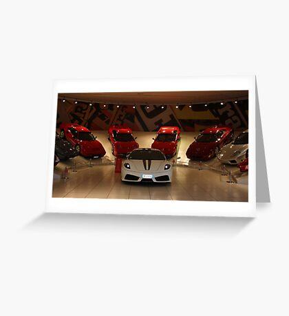 Ferrari Family Values Greeting Card