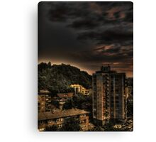 Hdr of old building Canvas Print