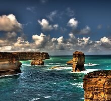 Apostles - Port Campbell, Victoria by Andrew Rossington