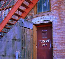 Jeans Etc. - Back Alley Collection - Great Falls, Montana by Monica DeShaw