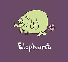 E for Elephant by Gillian J.