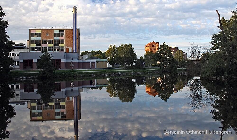 Industrial plant in Örebro, Sweden by Benjamin Othman Hultengren