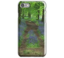 Bluebell way iPhone Case/Skin