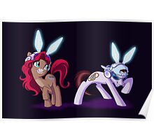 Mad T Ponies - Dinah and Nivens Poster