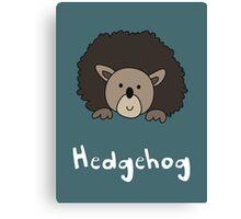 H for Hedgehog Canvas Print