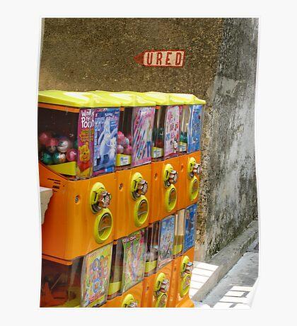 sweet vendor Poster
