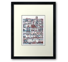 Secret Lab Framed Print
