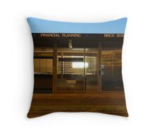 Financial Planning Throw Pillow