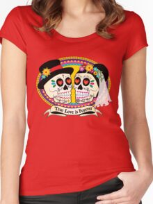 Los Novios (English) Women's Fitted Scoop T-Shirt