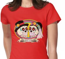 Los Novios (English) Womens Fitted T-Shirt
