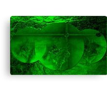Green -  Art + Products Design  Canvas Print