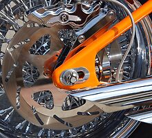 Chrome and Orange by John Schneider