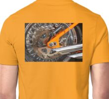 Chrome and Orange Unisex T-Shirt