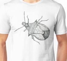 Stink Bug Pen and Ink Unisex T-Shirt