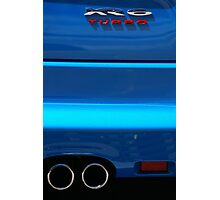 Blue Thunder - Can You Hear It? Photographic Print
