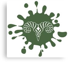 Skyrim Markarth Splat Logo Canvas Print