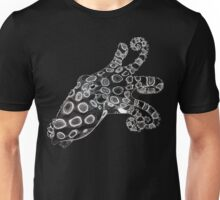 Blue-Ringed Octopus Pen and Ink, Inverted Unisex T-Shirt
