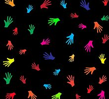 Colorful Hands, abstract by NataliSven