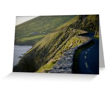 Road in Kerry Greeting Card