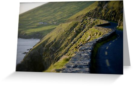 Road in Kerry by irishrain