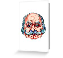 BSM Mexican Wrestler Greeting Card