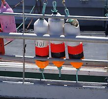 Hangin' out with the buoys by Jean Knowles
