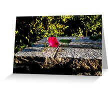 I am the whisper of the wind, the warmth of the sun, the perfection of every flower. I Am Simplicity.  Greeting Card