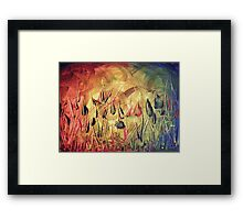 Life Through The Elements Framed Print