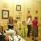 My Solo Exhibition at The Assembly House, Norwich, Norfolk by ANNETTE HAGGER