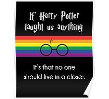 Harry PRIDE Potter  Poster