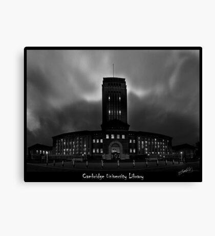 Cambridge University Library Canvas Print