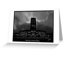 Cambridge University Library Greeting Card