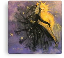 "Magic dance -  from  ""Impossible love""  series Canvas Print"
