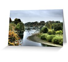 """Coldstream Crossing"" Greeting Card"