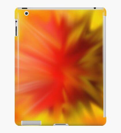 exploding meteor iPad Case/Skin