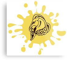 Skyrim Whiterun Splat Logo Metal Print