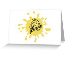 Skyrim Whiterun Splat Logo Greeting Card