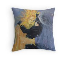 Impossible love - Meeting 3  ( for all... lovers!!!!!!!!) Throw Pillow