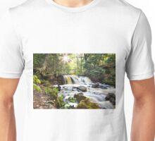 Upper Chapel Falls - Pictured Rocks National Lakeshore Unisex T-Shirt