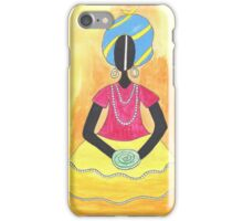 Baiana from Brazil holding a shell iPhone Case/Skin