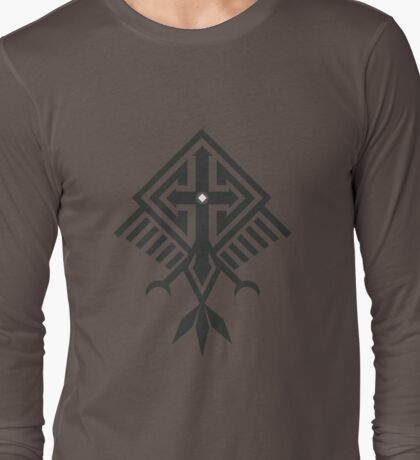 Bird of Pray (White Eye) Long Sleeve T-Shirt