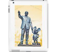 Walt and Mickey Samsung Galaxy Cases and Skins Orange iPad Case/Skin