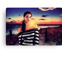 Fashion Sunset Fine Art Print Canvas Print