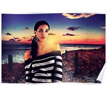 Fashion Sunset Fine Art Print Poster