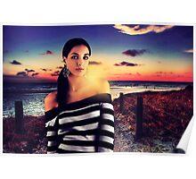 Fashion Sunset Fine Art Print Poster